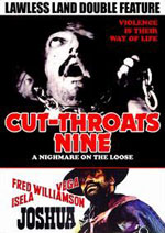 Cut-Throats Nine - Condenados a vivir / Joshua Double Feature DVD from Code Red
