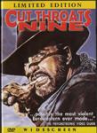 Cut Throats Nine - Condenados a vivir (1972) Eurovista DVD front cover