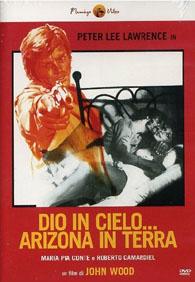 God in Heaven... Arizona on Earth - Dio in cielo... Arizona in terra Italian DVD cover