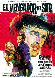 El vengador del sur Spanish DVD cover