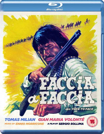 Face to Face aka Faccia a faccia Blu-Ray Eureka cover