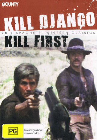 Kill Django Kill First DVD cover