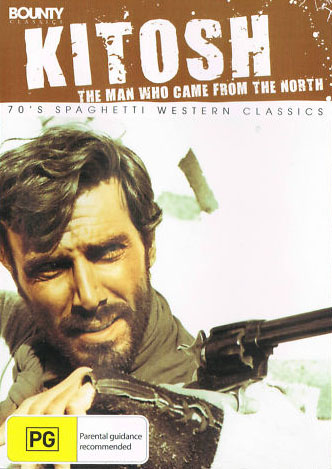 Kitosch, the Man Who Came from the North DVD cover with George Hilton
