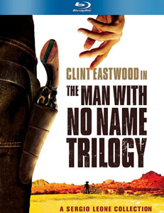 Clint Eastwood: The Man With No Name Trilogy Blu-Ray Cover