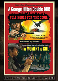 Full House for the Devil / The Moment to Kill (George Hilton double feature) DVD cover
