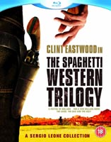 Clint Eastwood in The Spaghetti Western Trilogy Blu-Ray. Click the cover for bigger image.