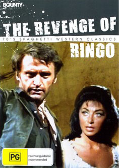 Ringo, It's Massacre Time / Giunse Ringo e... fu tempo di massacro (1970) DVD Cover