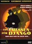 Spaghetti western W Django! / A Man Called Django! (1972) german dvd cover