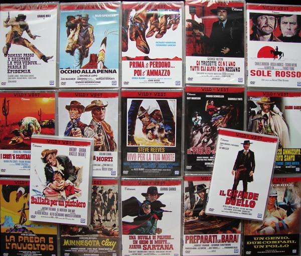 Titanus / 01 Wild West spaghetti western DVDs