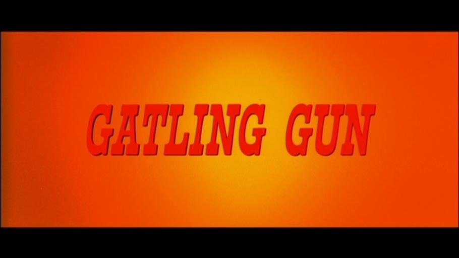 Gatling Gun DVD