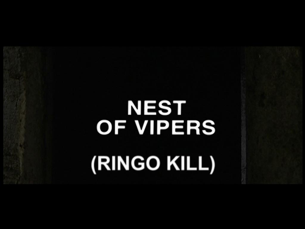 Per il gusto di uccidere title credits from Surf Video disc